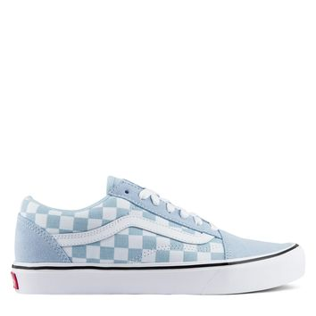 Old Skool Lite Suede Canvas - Baby Blue