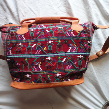 Handmade bag, huipil bag, Guatemalan bags, Guatemala bag, embroidery bag, shoulder bag, gift for her.