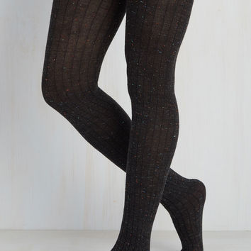 Speckled Spectacle Tights | Mod Retro Vintage Tights | ModCloth.com