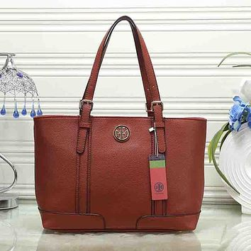 Tory Burch Women Fashion Leather Satchel Shoulder Bag Handbag