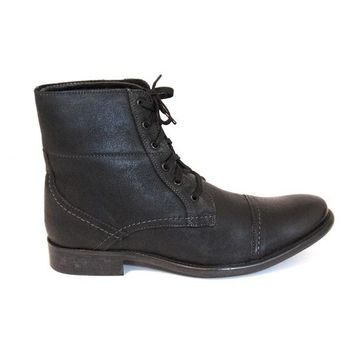 Hush Puppies Brock - Black Lace-up Boot