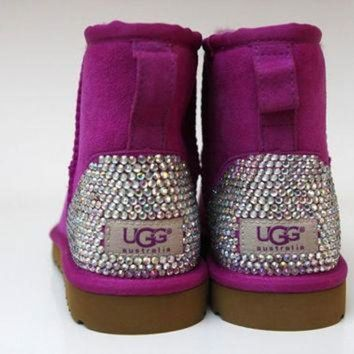 DCCK8X2 customised bling ladies Ugg boots