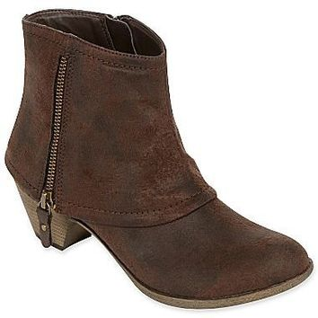 Worthington® Rumble Boots with Fold-Over Cuff