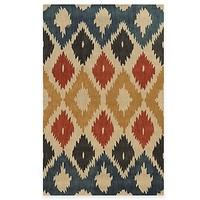 Rizzy Home Bradberry Downs Ikat Diamonds Rug