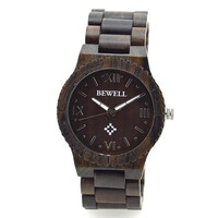 Paradise Hot New Hot New Men's Natural Wooden Wristwatch Wood Quartz Watch + Box Free Shipping Aug25