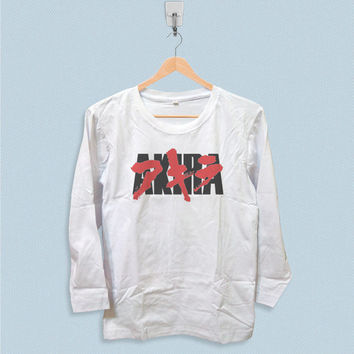 Shop akira shirt on wanelo for Akira long sleeve shirt