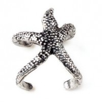 Women's Trendy Exquisite Vintage Starfish Ring Xmas Gift