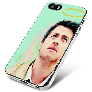 Art Supernatural Castiel Misha Collins iPhone 5 | 5S | 5SE Case Planetscase.com