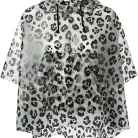 Moschino Cheap & Chic leopard print jacket