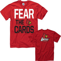 Louisville Cardinals Cardinal Fear the Cards T-Shirt