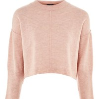 PETITE Mohair Ribbed Cropped Sweater - Sweaters & Knits - Clothing