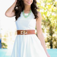 On The Ranch Dress-Ivory