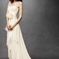 Cascading Goddess Gown in  the SHOP Gowns at BHLDN