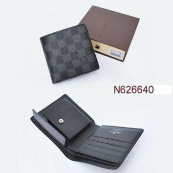 LMFON Tagre? LOUIS VUITTON FASHION MEN'S WALLET ZERO PURSE