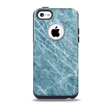 Scratched Iced Surface Skin for the iPhone 5c OtterBox Commuter Case