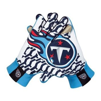 Nike Tennessee Titans Stadium Gloves - Light Blue