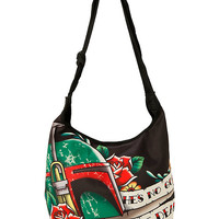 Star Wars Boba Fett Tattoo Hobo Bag