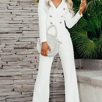 Angie Buttoned Jumpsuit