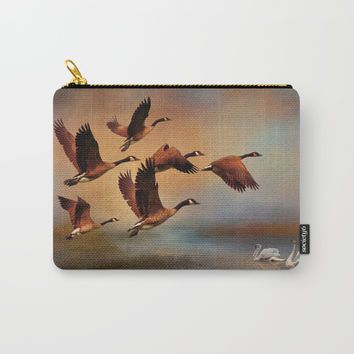 All Things Bright And Beautiful Carry-All Pouch by Theresa Campbell D'August Art