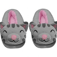 Big Bang Theory Soft Kitty Adult Gray Slippers - The Big Bang Theory - | TV Store Online