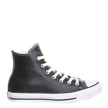 **CONVERSE All Star Hi Leather Trainers
