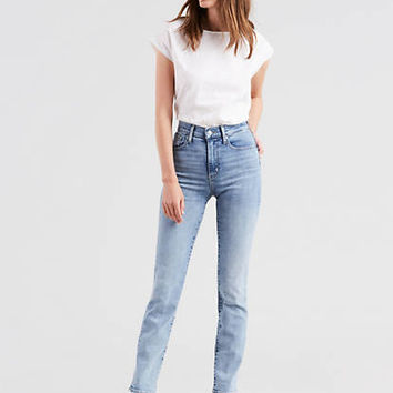 724 High Rise Straight Jeans - Dark Wash | Levi's® US