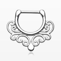 Royal Maele Filigree Septum Clicker