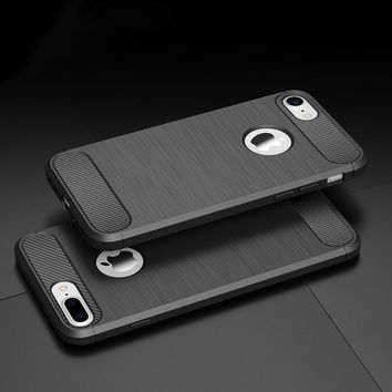 Phone Case for iPhoen X Gel Soft Case Bumper On the for Apple iPhone 5 5s SE 6 6s 7 8 Plus X Case TPU Silicone Back Cover Shell