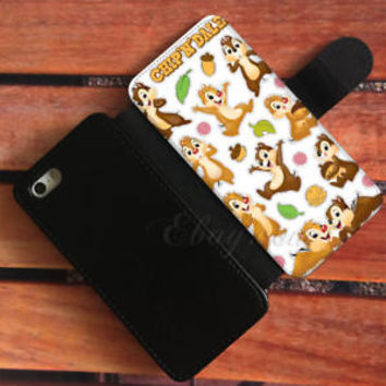 Disney Classic Wallet iPhone Cases Chip N Dale Samsung Wallet Leather Phone Case
