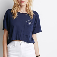 Get Lost Pocket Crop Top