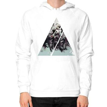 DCCKHD9 Geometric Conversation Hoodie (on man)