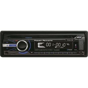 Power Acoustik Single_din In-dash Cd Receiver With Detachable Face & 32gb Usb Playback (with Bluetooth)