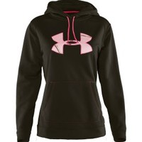 Under Armour Women's Fleece Tackle Twill Logo Hoodie - Dick's Sporting Goods