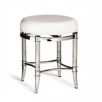 Bailey Vanity Stool | Frontgate
