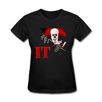 IIOPLO Women's Stephen Kings It T-shirt
