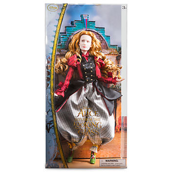 disney alice through the looking glass alice film collection doll new with box