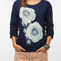 Urban Outfitters - Altru Graphic Floral Sweatshirt