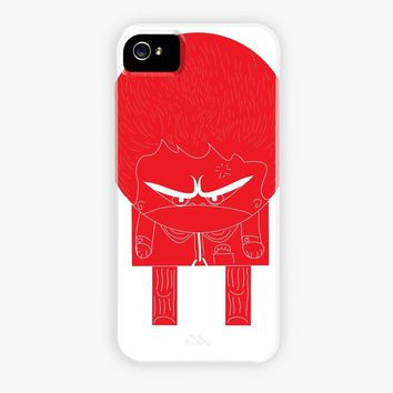 Anger Man, a phone case by orkun sunor