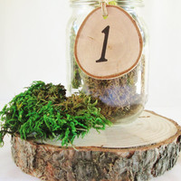 Table Numbers, Table Wedding Numbers, Rustic Table Numbers, Reception Numbers, Wedding Numbers