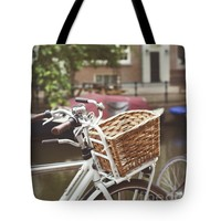 """Bicycle Tote Bag for Sale by Ivy Ho (18"""" x 18"""")"""