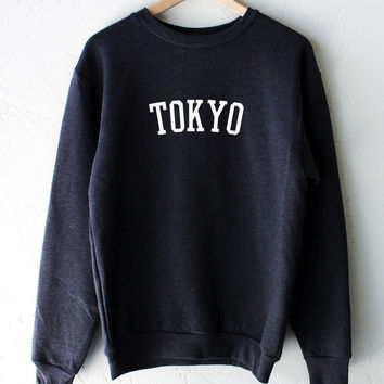 Tokyo Oversized Sweater - Dark Heather Grey