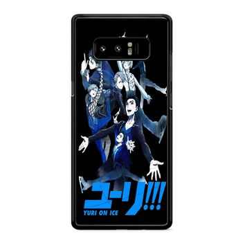 Yuri On Ice Samsung Galaxy Note 8 Case
