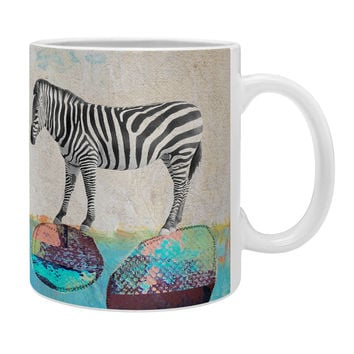 Natalie Baca Abstract Zebra Coffee Mug