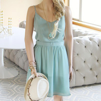The Madison Sage Dress