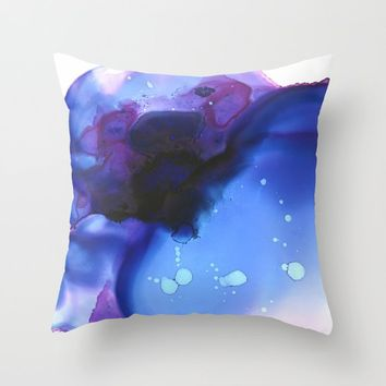 Ajna Throw Pillow by duckyb