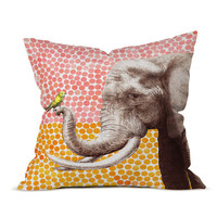 Garima Dhawan New Friends 2 Throw Pillow by DENY Designs at Gilt
