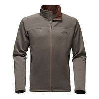 Men's Needit Full Zip Fleece Pullover in Falcon Brown Heather by The North Face
