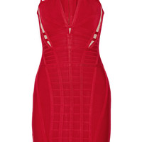 Hervé Léger - Elliana cutout bandage mini dress