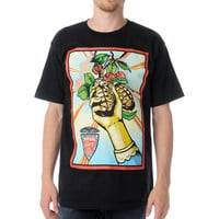 Obey Imperial Glory Black Tee Shirt