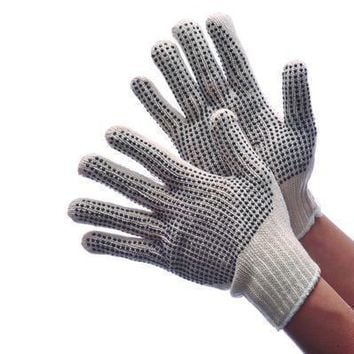 Men's Cotton-Poly String Knit Gloves - CASE OF 300